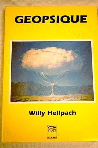 Geopsyche-Willy Hellpach