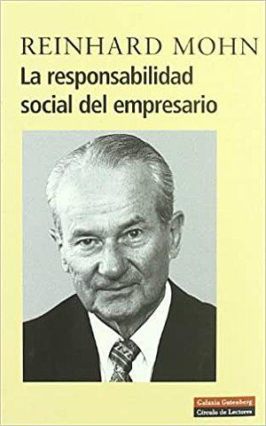 """LIBRO """"RESPONSABILIDAD SOCIAL DEL EMPRESARIO"""""""