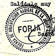 F.O.R.J.A (Fuerza de Orientación Radical para la Joven Argentina)