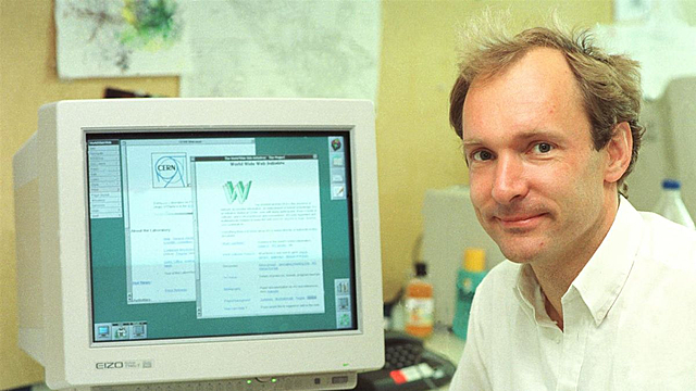 Primer servidor de páginas web