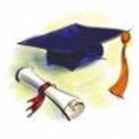 Mi graduación como Bachiller en Ciencias y Letras