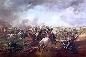 Se desata la ruptura del parlamento lo que ocasiona la primera guerra civil