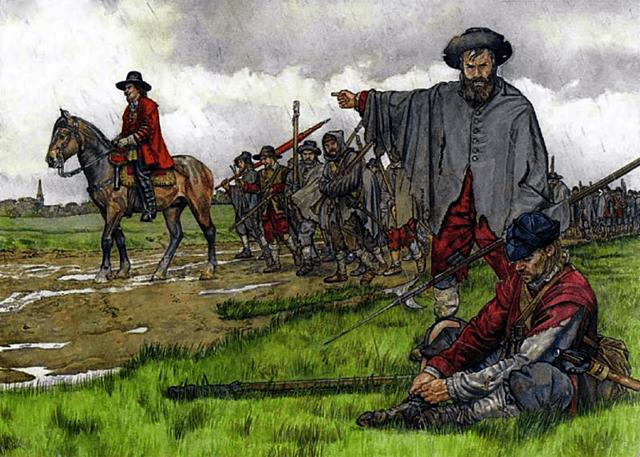 Carlos I huye a Escocia lo que desata la segunda guerra civil.