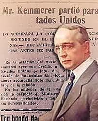 La misión kemmerer en Colombia.