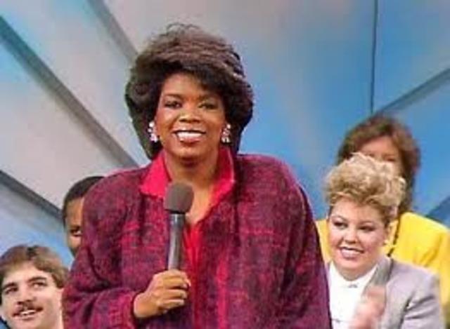 Oprah Winfrey Show Begins