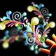 Tiras enlazadas creatividad coloridas