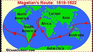 Ferdinand Magellan Sailed for Spain in 1519