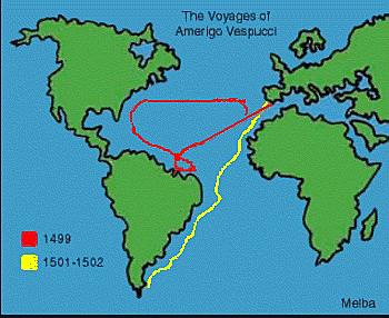 Amerigo Vespucci Sailed for Italy in 1502