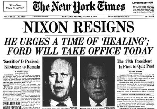 Presidential Resignation