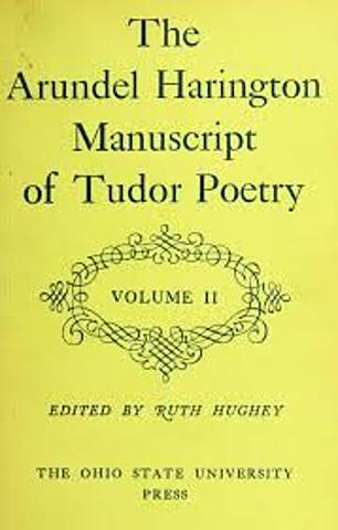 1501 Tudor lyric poetry