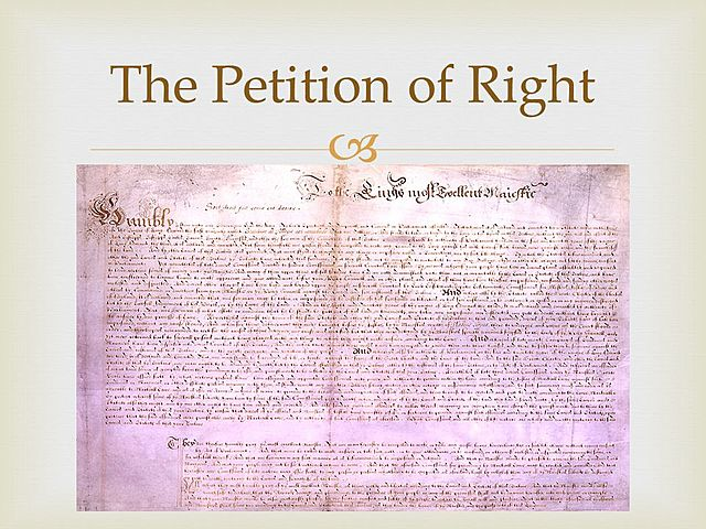 The Petition of Rights