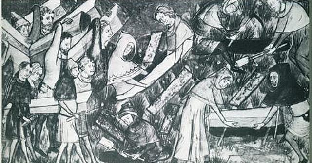 Billede af den sorte død