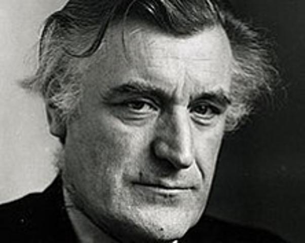 1930-1998 Edward James Hughes