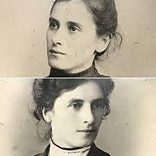 Hermanas Agazzi (Rosa (1866-1951) y Carolina (1870-1945)