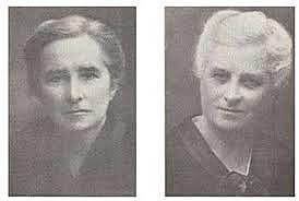 Hermanas Mc Millan (Margaret (1860-1931) y Rachel (1859-1917)