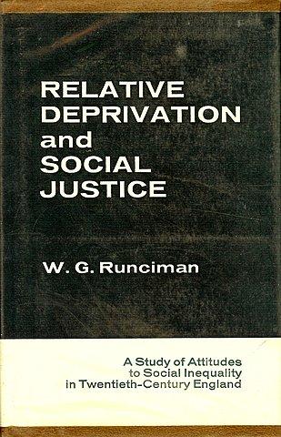 Due tipi di deprivazione (egoistica e fraterna) - Runciman