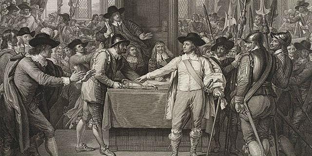 Cromwell Dissolves Parliament