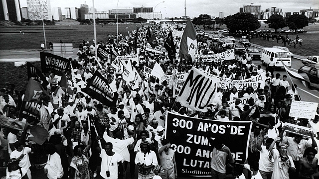 Marcha Zumbi dos Palmares contra o racismo, pela igualdade e a vida