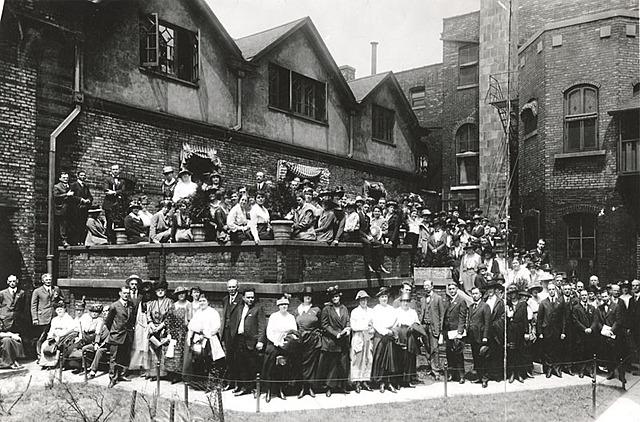 EEUU. Movimiento de los Settlement Houses