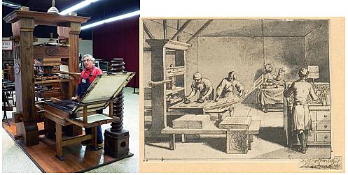 La imprenta es inventada por Johannes Gutenberg