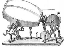 """El fonautograma es inventado como el primer dispositivo que podría grabar sonidos a su paso por el aire por el inventor parisino Édouard-Léon Scott de Martinville. El primer sonido grabado (""""fonautograma"""") fue una persona cantando."""