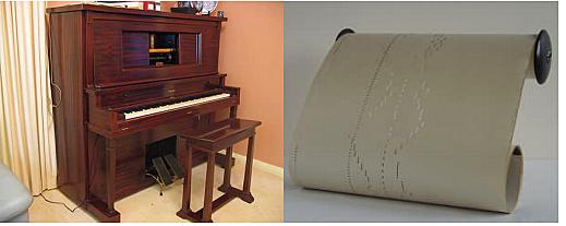 Se inventa el primer piano del mundo que puede grabar y reproducir música con hojas de papel.