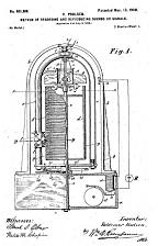 El primer dispositivo analógico de grabación por cable magnético es inventado por Valdemar Poulsen.