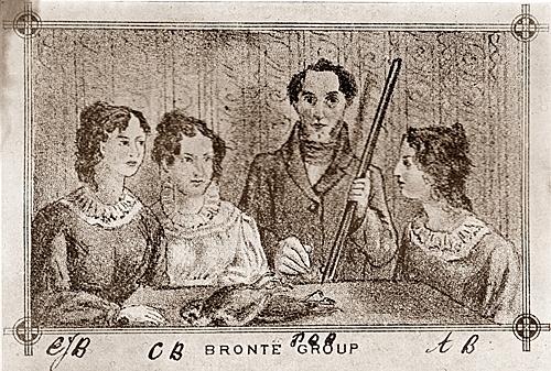 Branwell, Emily and Anne Brontë