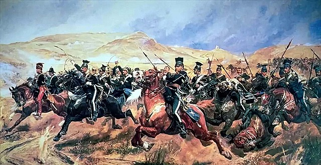 Charge of the Light Brigade in the Crimea