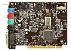 Las modernas tarjetas de sonido3 de las computadoras portátiles y de escritorio permiten grabar el sonido analógico a través de un micrófono y producirlo en un formato de archivo digital (por ejemplo, .WAV).
