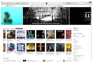 La tienda de iTunes se abre al público.