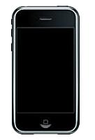 Apple lanza el primer modelo de iPhone con conectividad celular GSM cuatribanda con soporte GPRS y EDGE para la transferencia de datos.