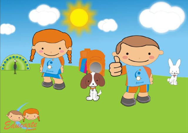 Mascotes da Jr.