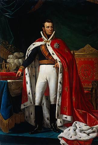 Koning Willem I wordt ingehuldigd