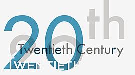Twentieth Century (1930-2000) timeline