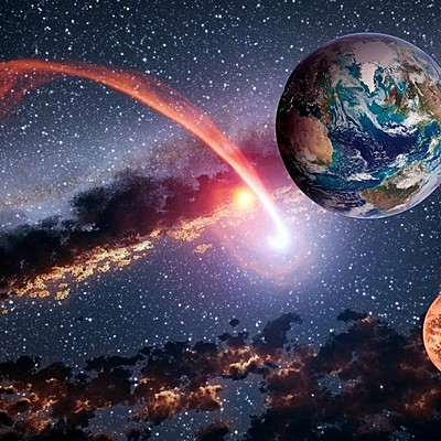 Origen del universo, Sistema solar y Tierra timeline
