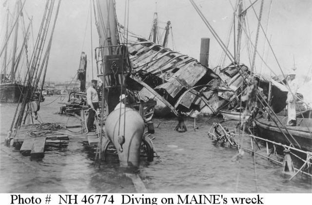 Maine Explosion