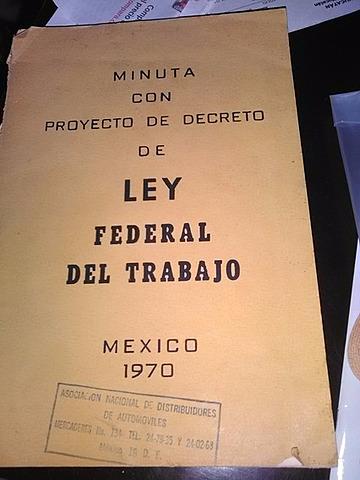 Nueva Ley Federal del Trabajo