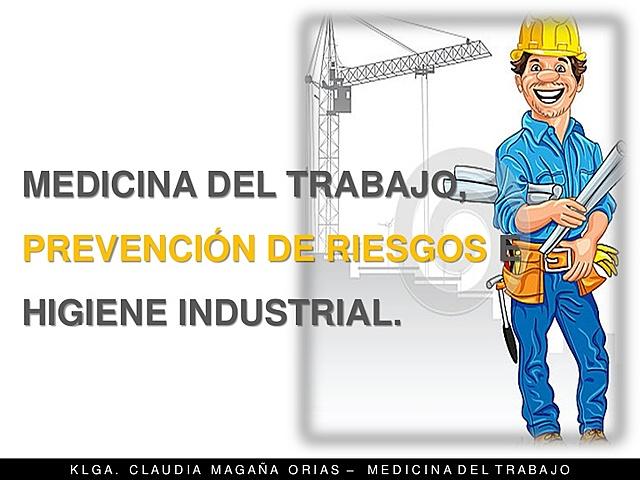Medicina e Higiene Industrial