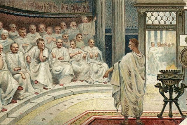 Republikk - keiserdømme - deling av riket