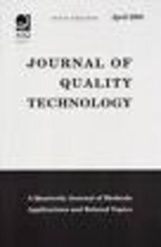 Deja de publicarse Industrial Quality Control
