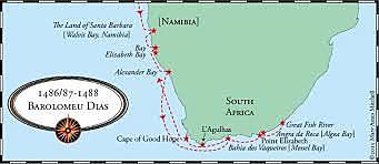 Bartolomeu Dias Sailing for Portugal
