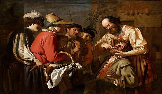 Aparición de dentistas y cirujanos