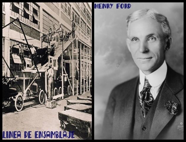 Henry Ford y la Línea de Ensamblaje