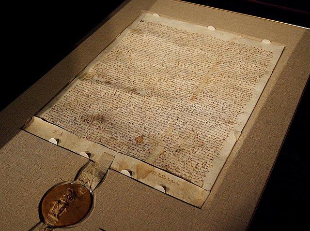 Magna Charta skapas