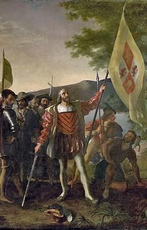 Christofer Columbus landstiger i Amerika: medeltiden slutar