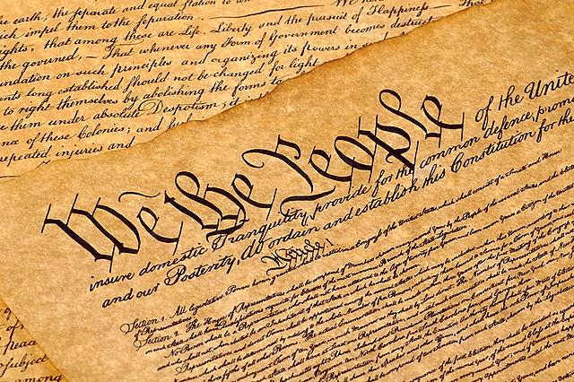 USA:s konstitution skapas