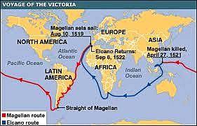 Ferdinand Magellan Sailed for Europe