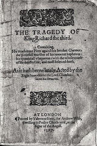 Richard III - Shakespeare
