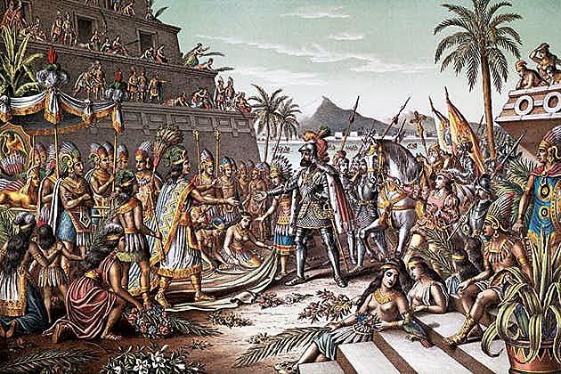 Erobring av Aztekerriket
